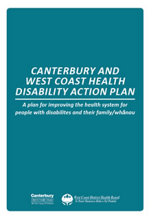Canterbury and West Coast Health Disability Action Plan