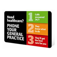 Phone your general practice